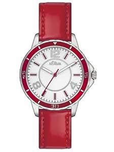 s.Oliver Damen-Armbanduhr XS Analog Leder SO-2356-LQ