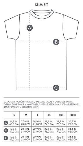 GOZOO Star Wars Men's T-Shirt Vintage Wookiee Oil Dye Grey 2