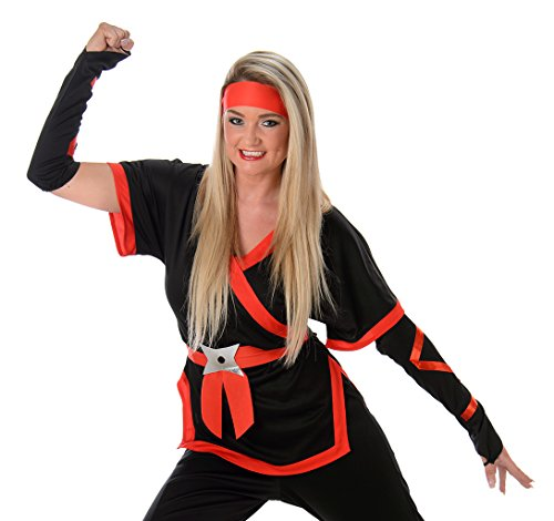 Women's Ninja Girl Costume Halloween (L) (Cheap Ninja Costumes)