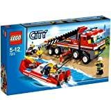 LEGO City Set #7213 OffRoad Fire Truck & Fireboat