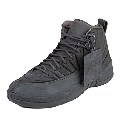Amazon.com: Nike Mens Public School x Air Jordan 12 Retro Dark Grey