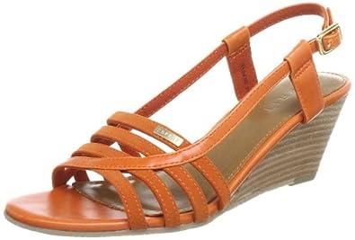 Esprit Rosia, Sandales femme - Orange (842 Burnt Orange), 37 EU