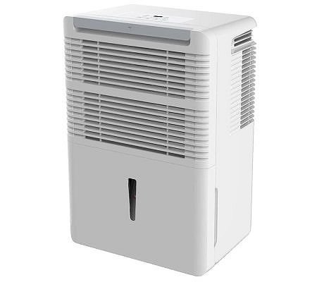 Keystone - 70-Pint Portable Dehumidifier - White