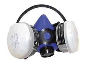 SAS Safety 2661-50 Professional Blue Half Mask Respirator, Medium