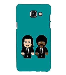 EPICCASE Pulp fictions Mobile Back Case Cover For Samsung Galaxy A5 (2016) (Designer Case)