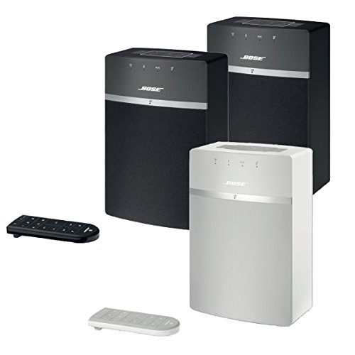 Bose SoundTouch 10 Wireless Music System Bundle 3-Pack - 2 Black and 1 White