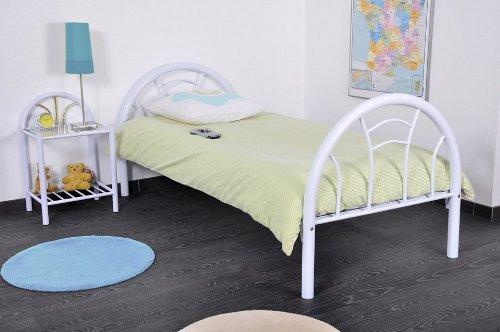 Lit Swithome Caspar 90x190cm Blanc
