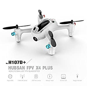 Hubsan FPV X4 Plus H107D+ RC Quadcopter