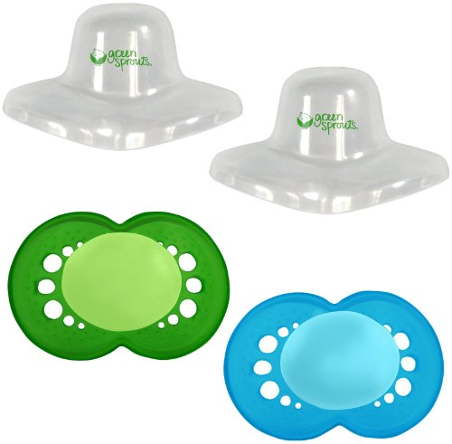 green sprouts by i play. Pacifier - Boy - 6 Months+ - 2 Pk - 1