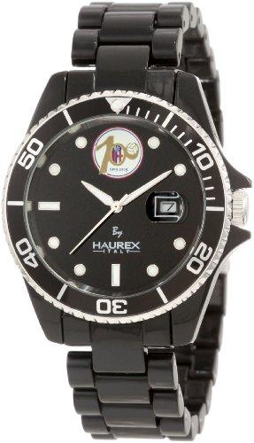 Haurex Italy BC339UNC - Reloj analógico de cuarzo para hombre con correa de plástico, color negro