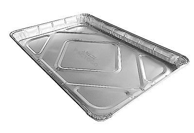 Handi-Foil Half 1/2 Size Sheet Cake Pan - Disposable Aluminum Foil Baking Trays (pack of 50)