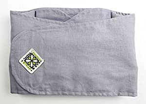 """Swaddle Strap (Large - chest circumference 16"""" & up, Grey Solid)"""