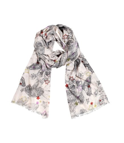 Women'S Butterfly Star Dream Soft Cotton Fashion Scarf