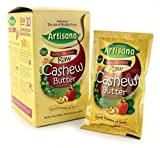 Artisana Raw Organic Cashew Butter - 11oz box (travel packs)