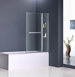 Drehen 180° Aufsatz Badewanne Duschwand Trennwand Duschabtrennung ...