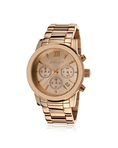 a_line Women's Sophi Chic Rose-Tone Stainless Steel Watch As You See