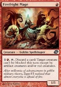 Magic: the Gathering - Firefright Mage - Planar Chaos - Foil