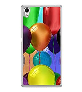 Colourful Balloons 2D Hard Polycarbonate Designer Back Case Cover for Sony Xperia Z4