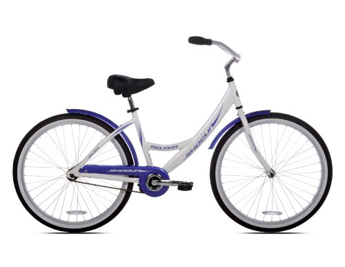 Shogun Belmar Women's Aluminum Beach Cruiser Bike (26-Inch Wheels)