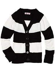 Pink Angel Stripe Sleeve Sweater