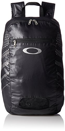 Oakley zaino packable Backpack, Unisex, Rücksack Packable Backpack, Nero con stampe , 43.2 x 27.9 x 15.2 cm, 18 Liter