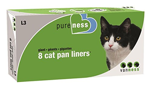 Pureness Giant Cat Pan Liners, 8 Count (Pureness Cat Pan compare prices)