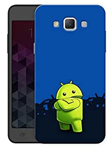"""Humor Gang Android Cartoon Printed Designer Mobile Back Cover For """"Samsung Galaxy j7"""" (3D, Matte, Premium Quality Snap On Case)"""
