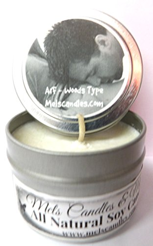 oz All Natural Soy Candle Tin - Approximate Burn Time 36