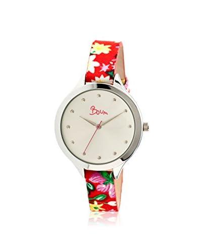 Boum Women's BM1901 Bijou Multicolor/Silver Leather Watch