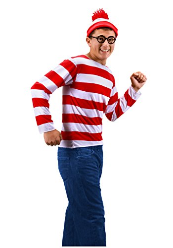 elope Where's Waldo Teen Costume Kit