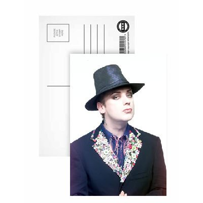 Boy George - Postcard (Pack of 8) - 6x4 inch - Art247 Highest Quality - Standard Size - Pack Of 8