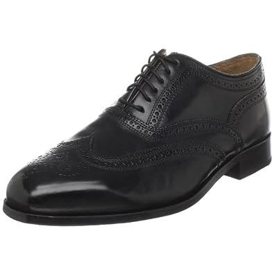 Florsheim Men's Marlton Wingtip Oxford,Black,7.5 EEE US