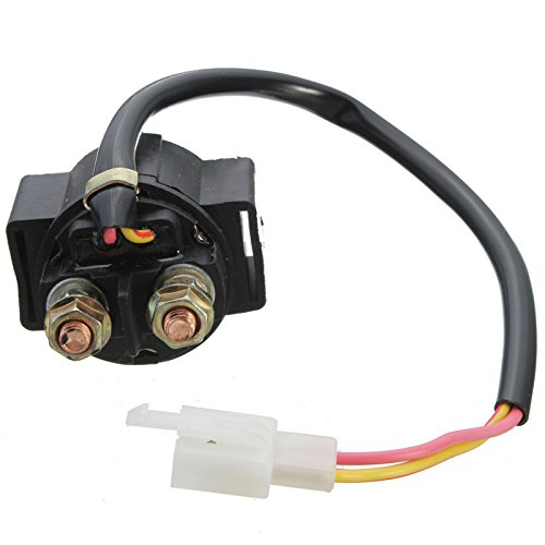 Funnytoday365 Motorcycle Starter Solenoid Relay Atv 50Cc 70Cc 90Cc 110Cc 125 Gy6125 For Most Chinese Scooter Motorcycle Atv Dirt Bike (50cc Chinese Atv Starter Relay compare prices)