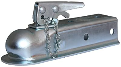 "Husky 87073 2"" Ball 2"" Width Straight Coupler with Chain"
