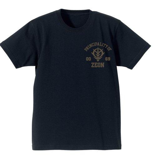 機動戦士ガンダム ジオン軍 ヘビーウェイトTシャツ ブラック サイズ:S