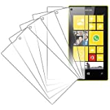MPERO Collection 5 paquet de Clair Films de protection d'écran for Nokia Lumia 520