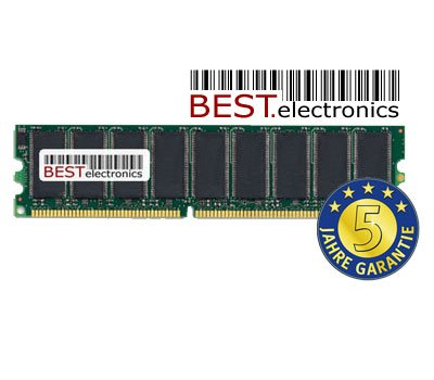 512MB Speicher RAM f&#252;r Actebis / Targa Visionary 1700 PC (Lidl-Modell v. Nov. 2001)
