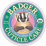 Badger Cuticle Care Certified Organic Soothing Shea Butter Nourish & Repairs 21g