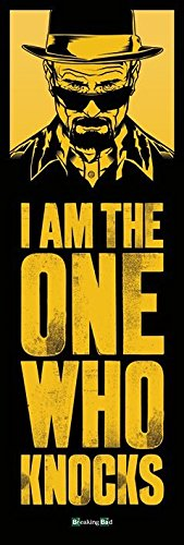 Poster Breaking Bad - I Am The One Who Knocks, 53 x 158 cm