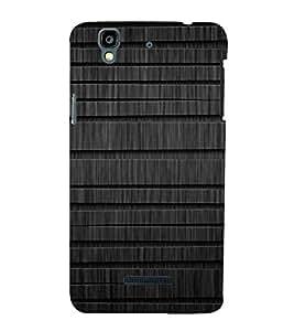 EPICCASE Dark Wood Mobile Back Case Cover For YU Yureka (Designer Case)