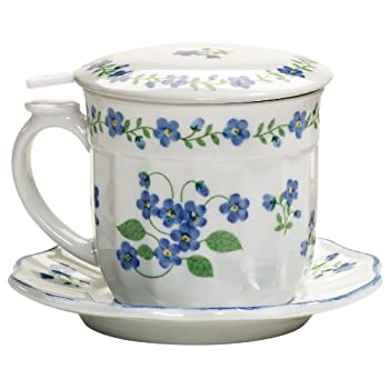 Forget-Me-Not Infuser Mug