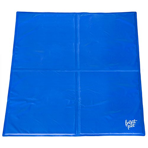 Frontpet Self Cooling Gel Mat Pad EXTRA LARGE for Dogs, Non Toxic (3ft X 3ft)
