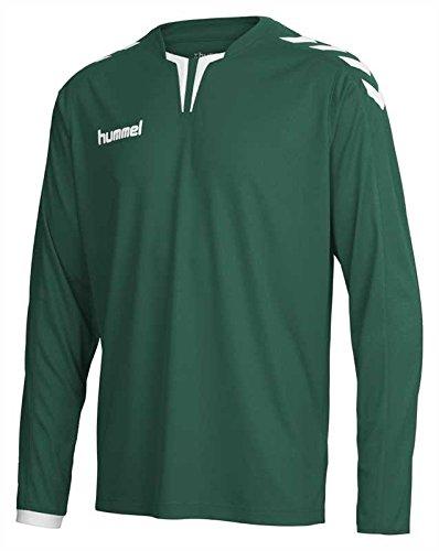 hummel-herren-trikot-core-long-sleeve-poly-jersey-evergreen-m-04-615-6140
