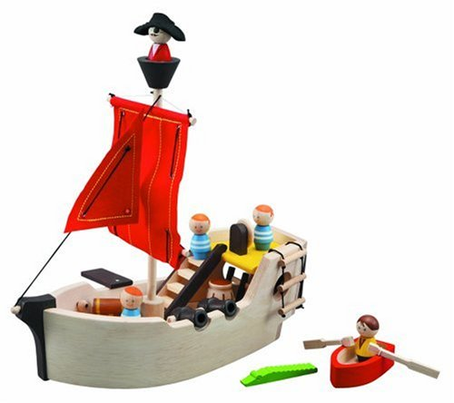 Plan Toys 6105 Pirate Ship