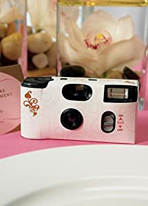 New PriceDavid's Bridal Wedding Memories Single Use Camera Style 8401: Camera & Photo