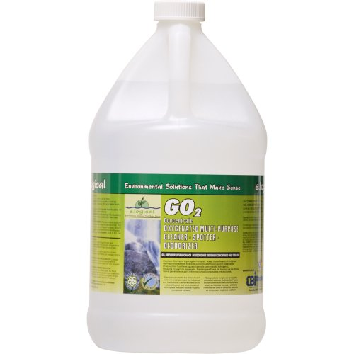 Nyco Products Gs005-G2 Go2 Concentrated Oxygenated Multi-Purpose Cleaner, Spotter, Deodorizer, 1-Gallon Bottle (Case Of 2)