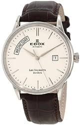 Edox Men's 83007 3 AIN Les Vauberts Automatic Watch