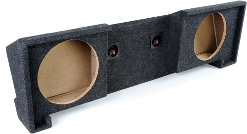 Atrend A102-10Cp B Box Series 10-Inch Dual Down-Fire Subwoofer Boxes