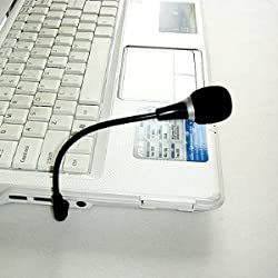 APE0101 Mini MIC Microphone for Laptop Notebook SKYPE MSN VoiP PC ICQ