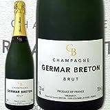 シャンパーニュ・ジェルマール・ブルトン・ブリュット【辛口】【シャンパン】【750ml】【Germar Breton】【金賞】
